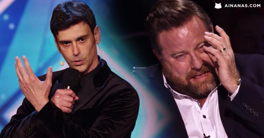 FALSO MENTALISTA deixa Got Talent a Chorar a Rir