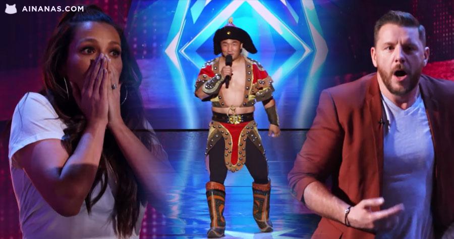 FORTALHAÇO da Mongólia Impressiona no Got Talent
