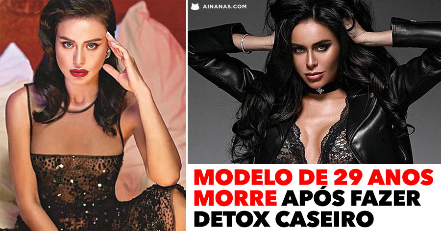 Modelo de 29 anos MORRE após fazer DETOX CASEIRO