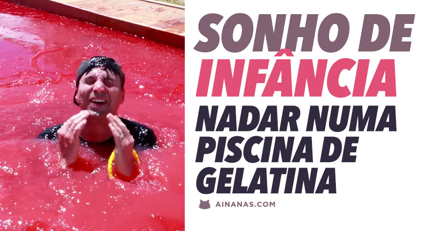 EX-CIENTISTA DA NASA realiza projeto ambicioso: piscina de gelatina