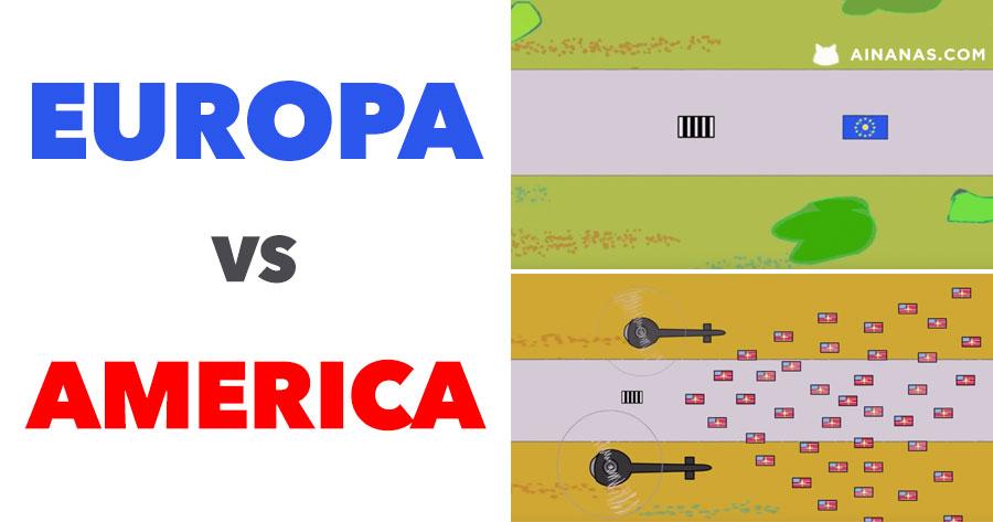 EUROPA vs AMERICA