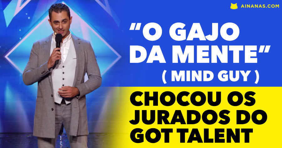 Mentalista CHOCA JURADOS do Got Talent