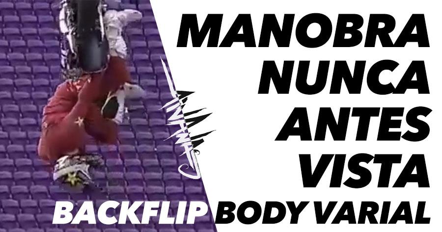 SURREAL: Primeiro Backflip Body Varial de que há registo