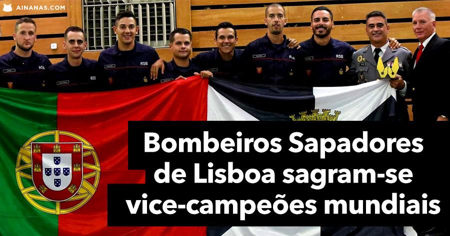 Sapadores Bombeiros de Lisboa sagram-se Vice-Campeões Mundiais