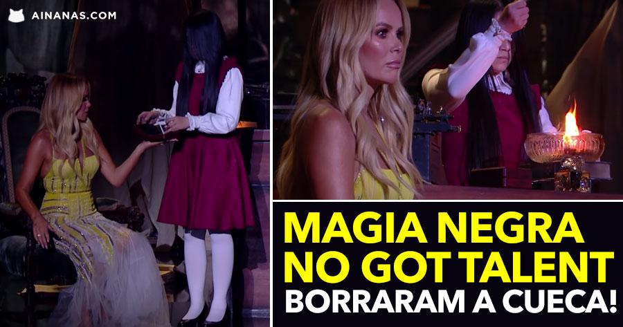 MAGIA NEGRA no Got Talent. Borraram a cueca!