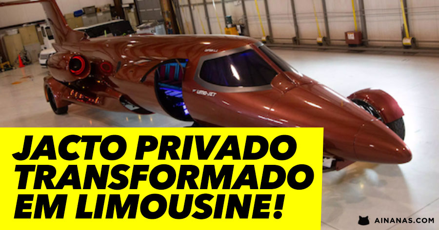 JACTO PRIVADO transformado em Limousine ( Street Legal )