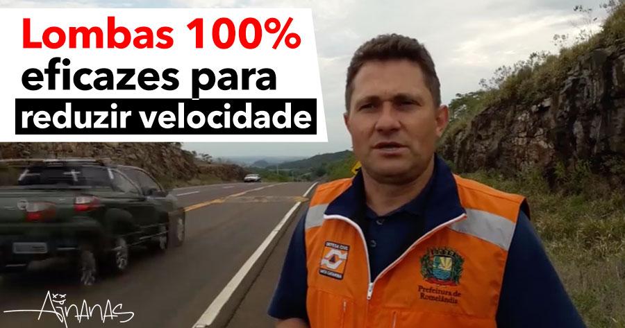 Lombas 100% EFICAZES para evitar excessos de velocidade