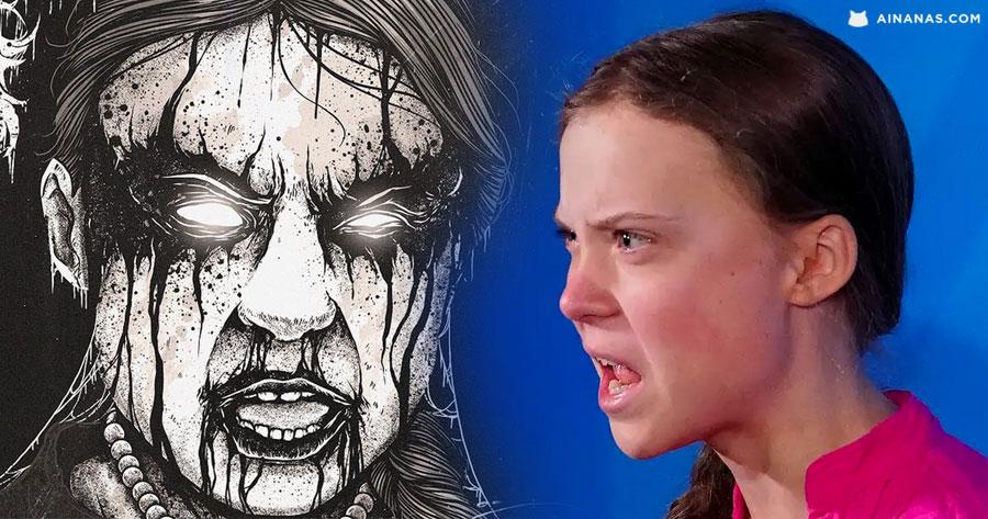 Discurso de Greta Thunberg ganha versão DEATH METAL