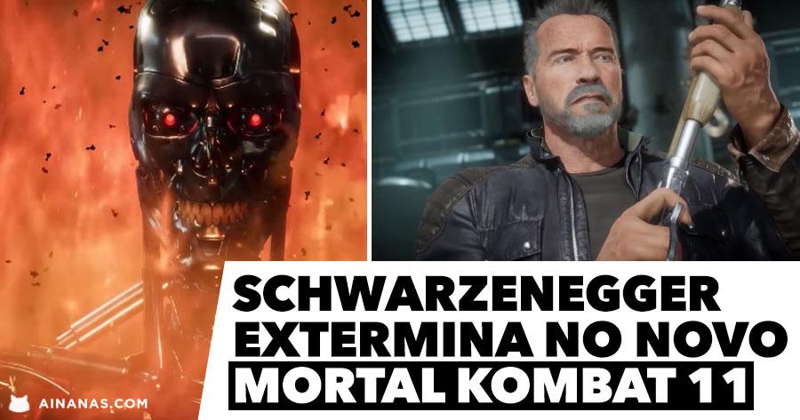 Schwarzenegger EXTERMINA no novo MORTAL KOMBAT 11