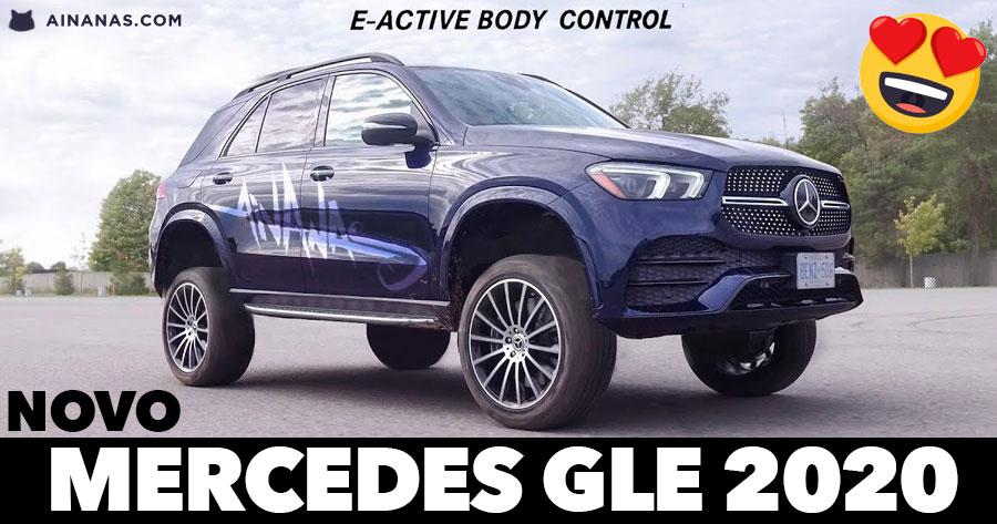 Novo MERCEDES GLE 2020 salta como um Low Rider