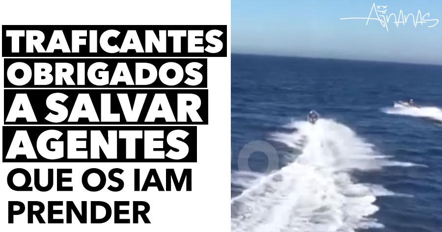 Traficantes obrigados a SALVAR AGENTES que os iam prender