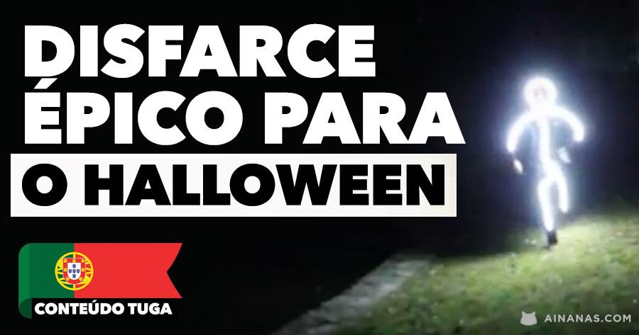 Já tens disfarce para o Halloween?! TEMOS UMA IDEIA PARA TI