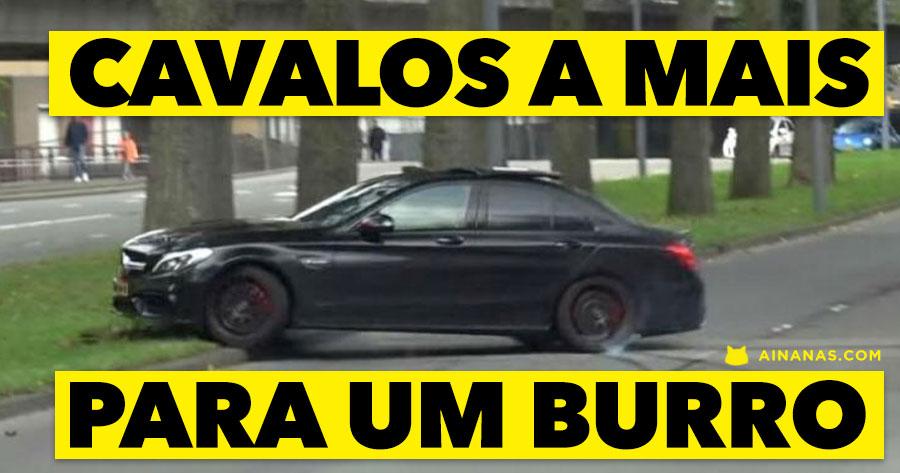 Carapau de Corrida Espatifa Mercedes-AMG C63S