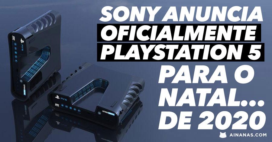 Sony ANUNCIA OFICIALMENTE Playstation 5 para o Natal... de 2020