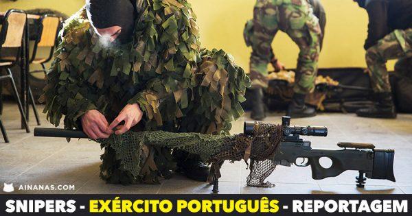 SNIPERS - EXÉRCITO PORTUGUÊS | REPORTAGEM